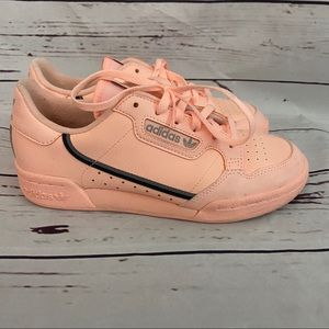 Adidas Kids Sneakers Salmon Color Size 4.5